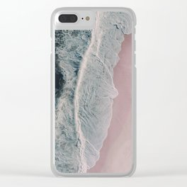 Sands of Cameo Pink Clear iPhone Case