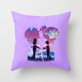Kimi no na Wa (Your Name) Throw Pillow