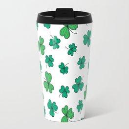 Clover pattern Travel Mug