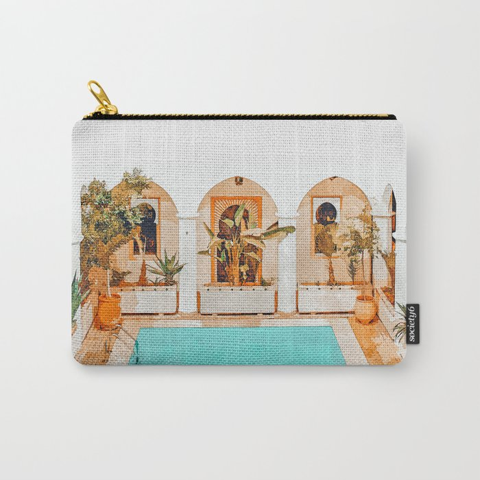 Turkish Holiday #painting #travel Carry-All Pouch