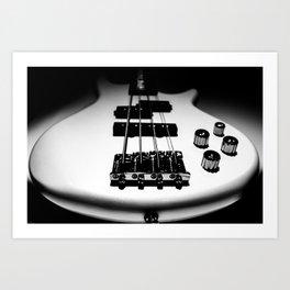 Bass Lines Art Print