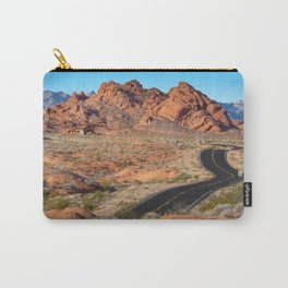 Valley of Fire Blacktop Carry-All Pouch