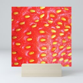Strawberry Red Mini Art Print