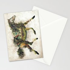 Wild Horse Surrealism Stationery Cards