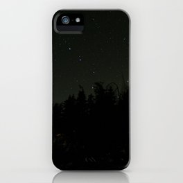 Nightscape at Orcas Island iPhone Case