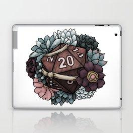 Monk Class D20 - Tabletop Gaming Dice Laptop & iPad Skin