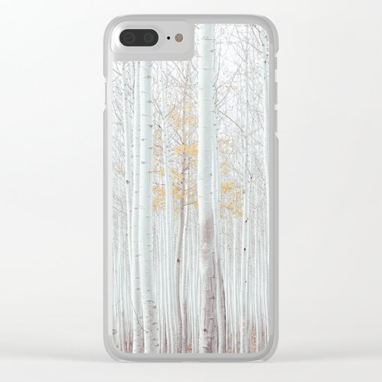 Pale Forest Clear iPhone Case