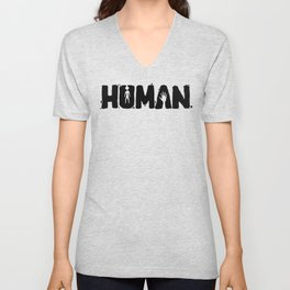 Human Unisex V-Neck