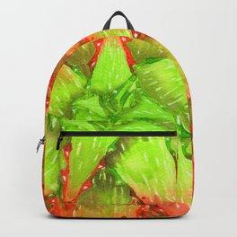 Orange Aloe Backpack