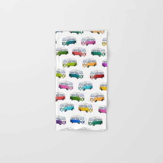 Microbus Pattern Hand & Bath Towel