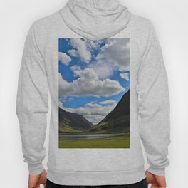 Highland Blue and Green Hoody