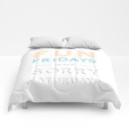 Weekend Comforters