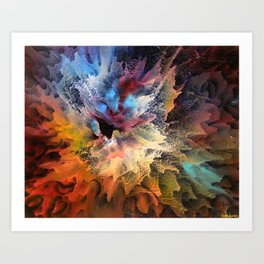 The Birth of a Star Art Print