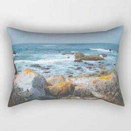 The Restless Sea II - Californian Coast Rectangular Pillow