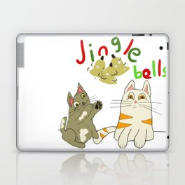 jingle bell kittens Laptop & iPad Skin