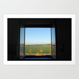 World out there Art Print