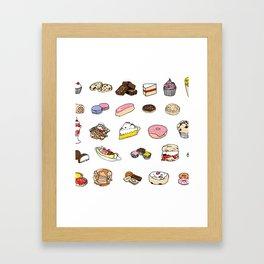 Sweet Wallpape Framed Art Print