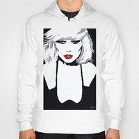 blondie Hoodies featuring Blondie  by Saundra Myles