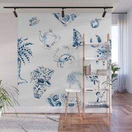 SC Toile Y'all Wall Mural