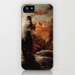 Character Poster Series - The Queen iPhone Case