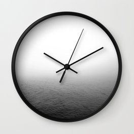 Misty Ocean Wall Clock