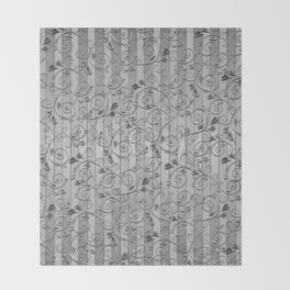Silver bars Throw Blanket
