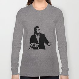 Vincent Vega John Travolta Confused Wallet Long Sleeve T-shirt