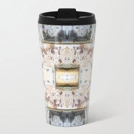 176 - Vintage bricks pattern Travel Mug