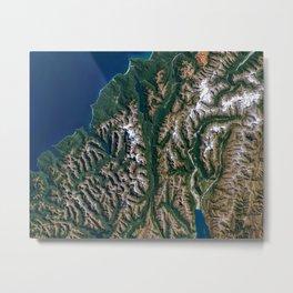 Southern Alps - New Zealand Metal Print