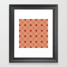 Beatnik Blush  Framed Art Print