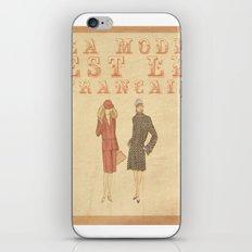 French Fashion iPhone & iPod Skin