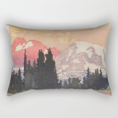 Storms over Keiisino Rectangular Pillow