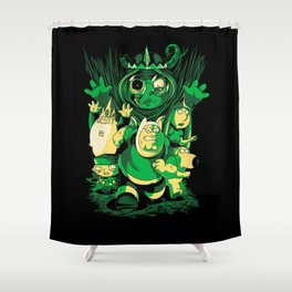 Return of the Lich Queen Shower Curtain