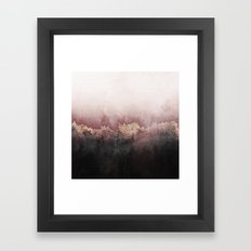 Pink Sky Framed Art Print