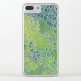 Dualism of Bold and Bright Clear iPhone Case