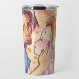 Rapunzel kiss Travel Mug