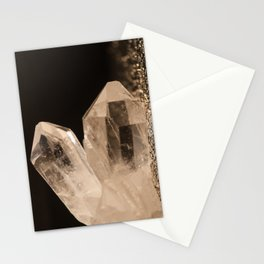 Crystal Shard Macro Photograph Stationery Cards