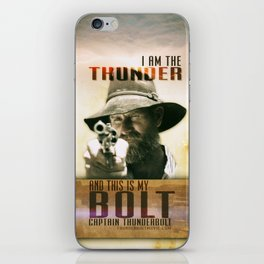Sure...I'd Mount Isa iPhone Skin