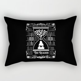 The Reader Tarot Card Rectangular Pillow