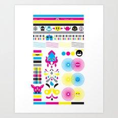 Monsters Ink. Art Print