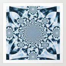 Kaleidoscope Forest Art Print