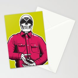 Vato Loco Skull Stationery Cards