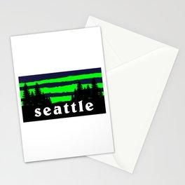 Seattle Outdoor Hiking Pacific Northwest Washington PCT Stationery Cards