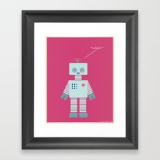 You Turn Me On Framed Art Print