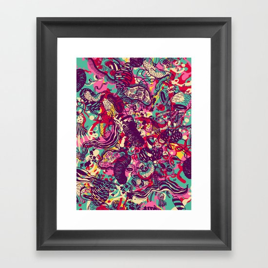 Species Framed Art Print