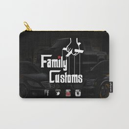 Family Customs Carry-All Pouch