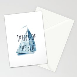 sailboat Stationery Cards