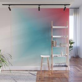 Blue Gradient Wall Mural