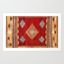 Çal  Antique Turkish Kilim Print Kunstdrucke