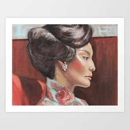 In the Mood for Love Art Print